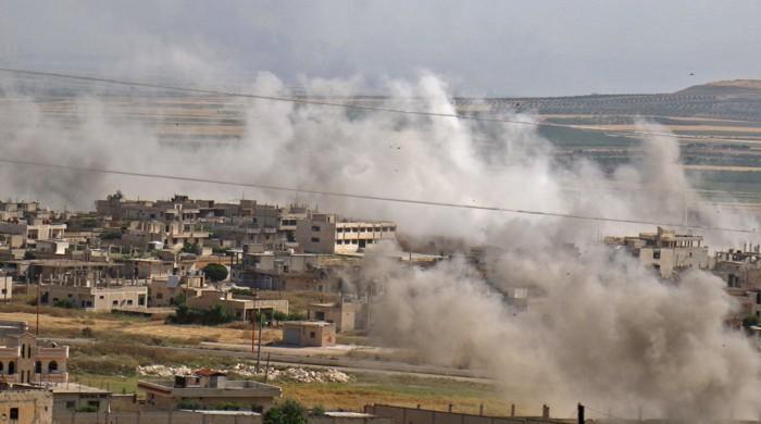 امریکا کا شام میں ایرانی حمایت یافتہ ملٹری انفرا اسٹرکچر پر حملہ، 17 ہلاک