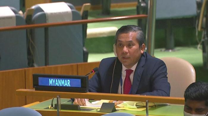 اقوام متحدہ میں میانمارکے سفیر غداری کے الزام میں برطرف