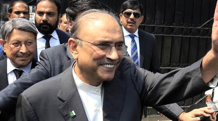 سابق صدر آصف زرداری اسلام آباد پہنچ گئے