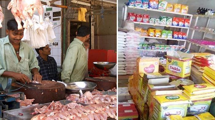 فروری میں چکن اور گھی کی قیمتوں میں اضافہ ہوا: رپورٹ