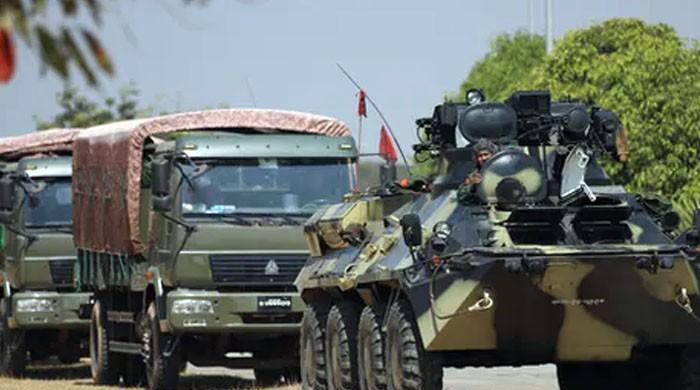 امریکا نے میانمار کی فوجی قیادت کی ایک ارب ڈالر منتقلی کی کوشش ناکام بنادی
