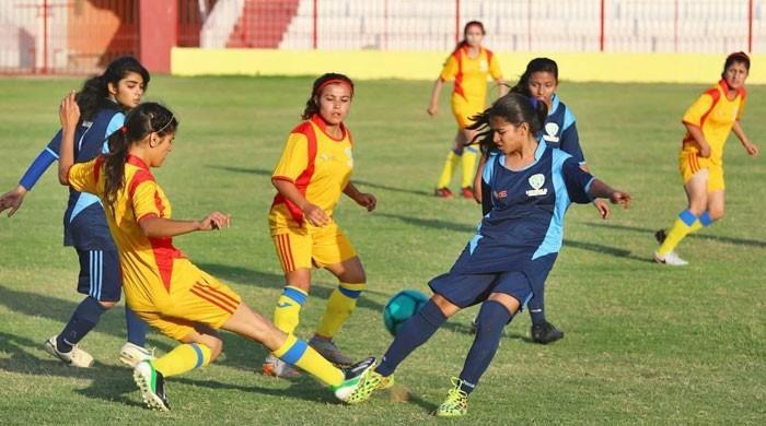 13ویں قومی ویمن فٹبال چیمپئن شپ کا آغاز کل سے کراچی میں ہوگا