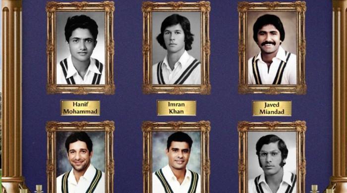 نامور  پاکستانی کرکٹرز کو  ان کی خدمات کے اعتراف میں خراج تحسین پیش کرنے کا آغاز