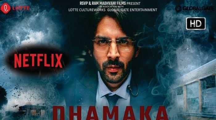 فلم 'دھماکا' کا نیٹ فلکس کے ساتھ ریکارڈ قیمت میں سودا