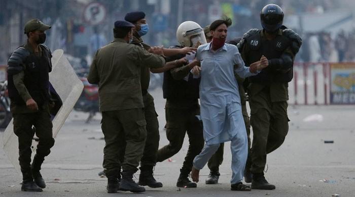 وزارت داخلہ نے مظاہرین کی گرفتاریوں سے متعلق رپورٹ جاری کردی