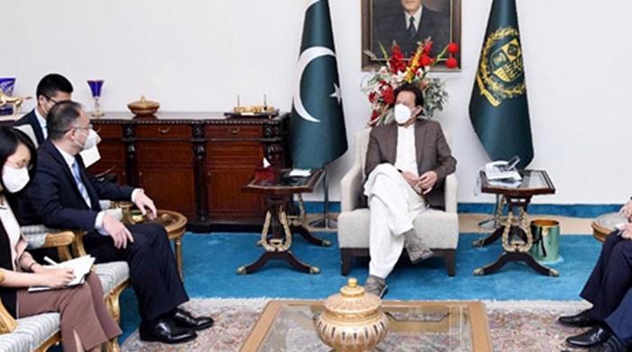 وزیراعظم سے چینی سفیرکی ملاقات،دوطرفہ امور سمیت کوروناکی صورتحال پر تبادلہ خیال