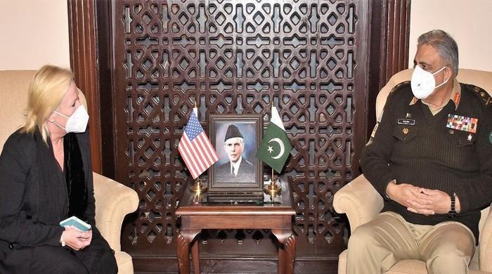 توقع ہے ہر شعبے میں پاکستان اور امریکا کا تعاون فروغ پائے گا: سربراہ پاک فوج