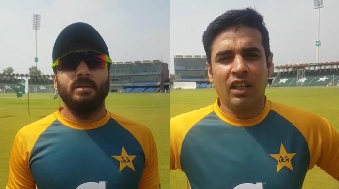 ٹیسٹ اوپنرز  عابد علی اور عمران بٹ بہترین کھیل پیش کرنے کیلئے پُرامید