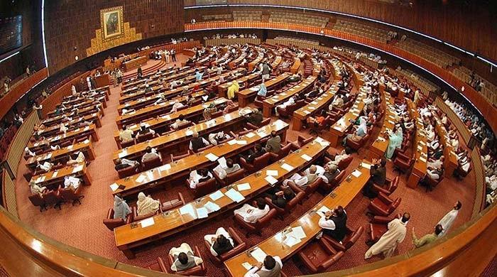 تحریک لبیک کو کالعدم قرار دینے کے معاملے پر قومی اسمبلی میں بحث