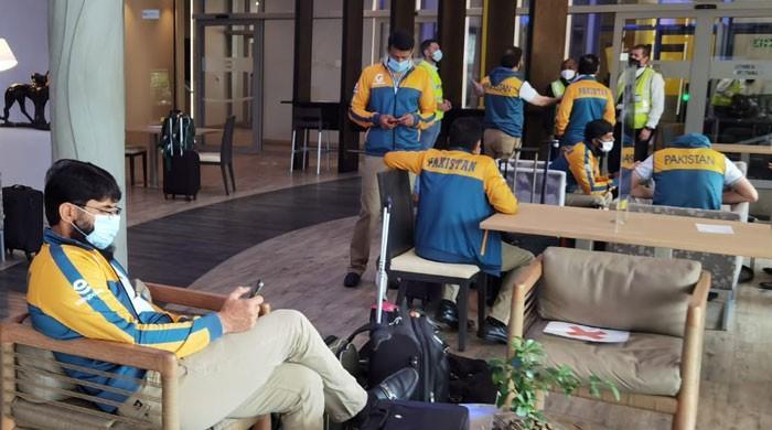 پاکستان کرکٹ ٹیم جوہانسبرگ سے زمبابوے روانہ