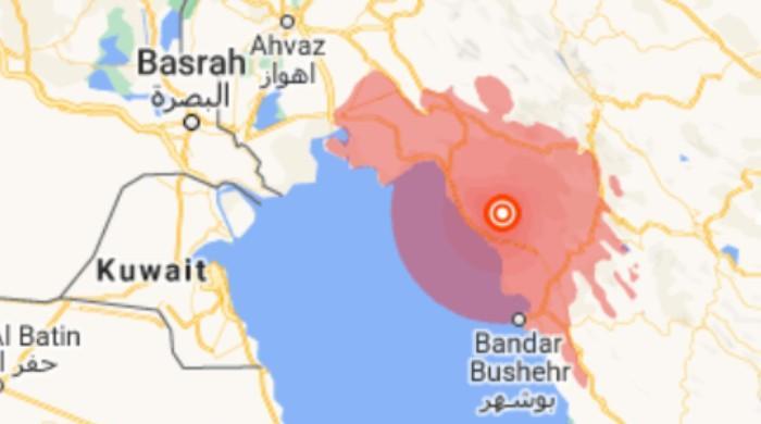 ایرانی صوبے بوشہر میں 5.9 شدت کا زلزلہ، 5 افراد زخمی