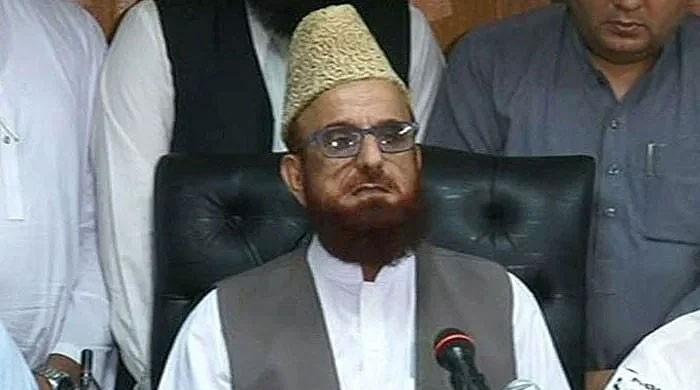 لاہور واقعے کیخلاف مفتی منیب الرحمان کا آج ملک بھر میں پہیہ جام ہڑتال کا اعلان
