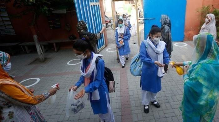 پنجاب میں نویں سے بارہویں تک تدریسی عمل شروع لیکن حاضری نا ہونے کے برابر