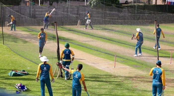 پاکستان کرکٹ ٹیم نے ہرارے میں ٹریننگ کا آغاز کر دیا