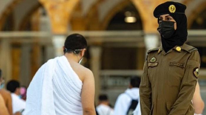 مسجد الحرام، خواتین سکیورٹی اہلکار  صحن مطاف میں بھی تعینات
