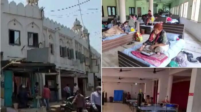 بھارت: کورونا مریضوں کی تعداد بڑھنے پر مسجد کووڈ سینٹر میں تبدیل