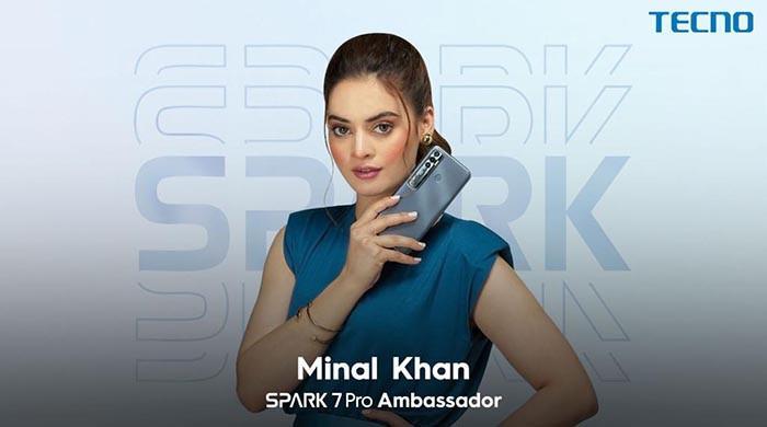 منال خان ٹیکنو موبائل کی جانب سے Spark 7Pro کیBrand Ambassador مقرر