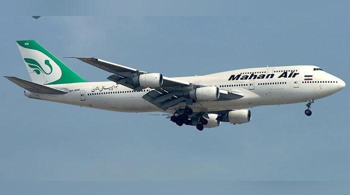 دنیا کے آخری بوئنگ 300-747 کی 5 سال مرمت کے بعد ایران میں پہلی اڑان