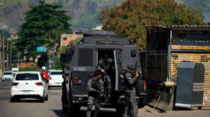 برازیل: منشیات فروشوں سے جھڑپ، پولیس اہلکار سمیت 25 افراد ہلاک