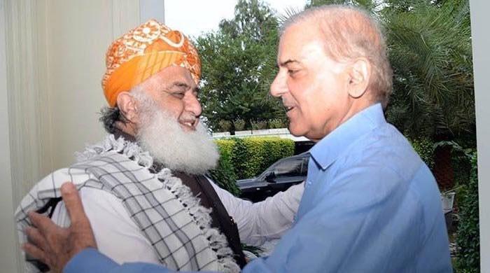 شہباز شریف نے اسلام آباد میں فضل الرحمان سے ملاقات نہ کی، واپس لاہور پہنچ کر فون کیا