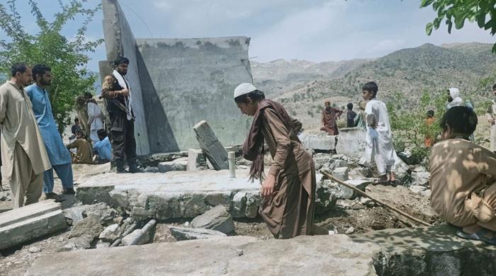 مہمند میں ٹینک کی دیوار گرنے سے 7 بچے جاں بحق