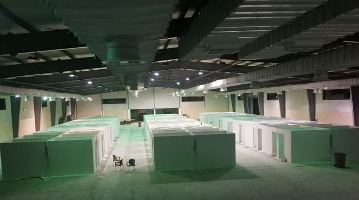 کراچی میں سندھ کے سب سے بڑے کورونا ویکسینیشن سینٹر کا افتتاح