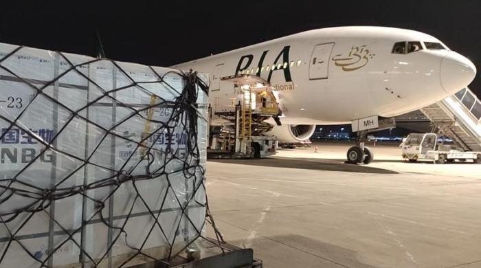 چین سےکورونا ویکسین کی ایک اور کھیپ پاکستان پہنچ گئی