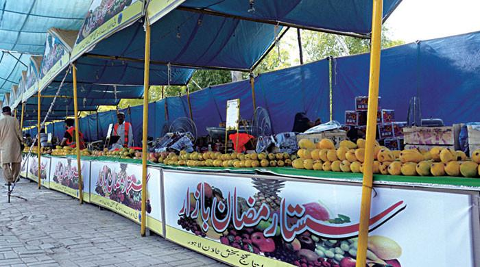 پنجاب میں کل شام سے رمضان بازار ختم کردیے جائیں گے، نوٹیفکیشن جاری