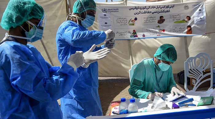 کورونا وائرس سے ملک بھر میں متاثرہ ہیلتھ ورکرز کے اعداد و شمار جاری