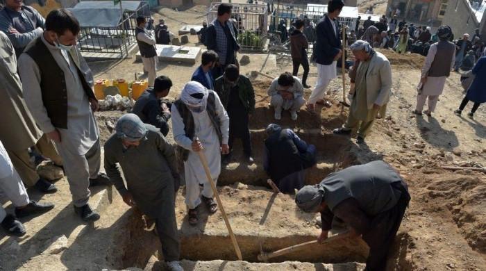کابل میں اسکول کے باہر بم دھماکے میں جاں بحق افرادکی تعداد 68 ہوگئی