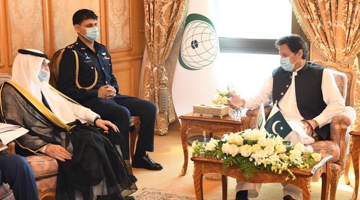 وزیراعظم کی سیکرٹری جنرل او آئی سی سے ملاقات، اسلاموفوبیا کے واقعات پر تبادلہ خیال