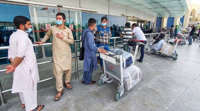 متحدہ عرب امارات نے پاکستان و دیگر ممالک سے آنے والے مسافروں پرپابندی لگادی