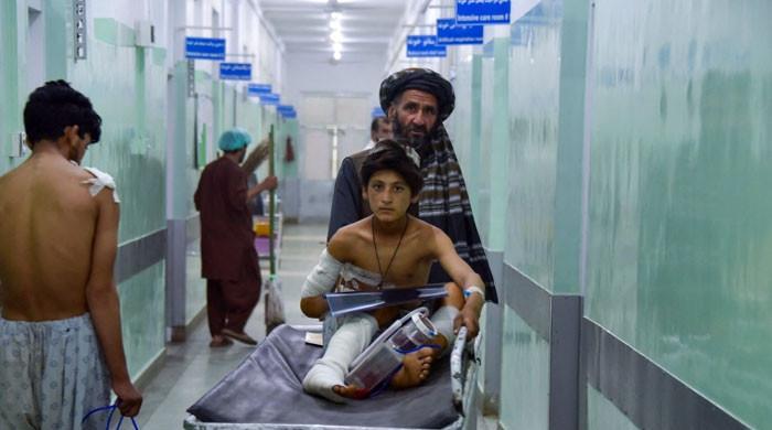 افغان صوبے زابل میں بم دھماکا، بس میں سوار 11 افراد جاں بحق