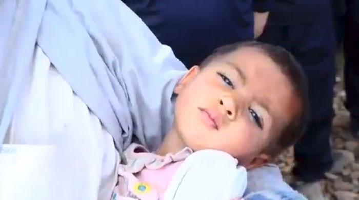 میانوالی میں لاپتہ ہونے والی ڈیڑھ سالہ بچی دور دراز کے چٹانوں سے مل گئی