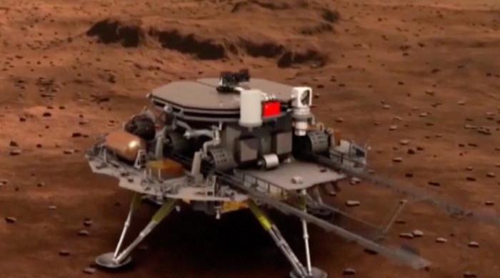 چین کا خلائی مشن مریخ پر لینڈ کرگیا