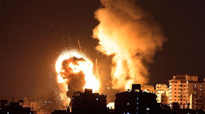 اسرائیل کا غزہ پر ایک اور حملہ، غیر ملکی میڈیا ہاؤس تباہ