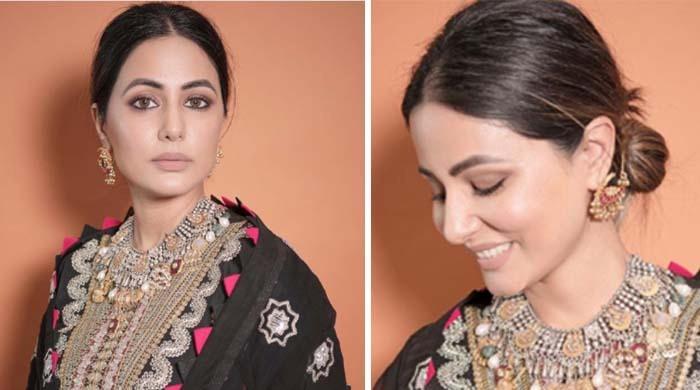 معروف بالی وڈ اداکارہ نے عید پر کس پاکستانی ڈیزائنر کا لباس پہنا؟