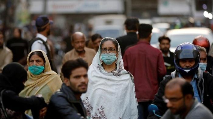 لاہور میں کورونا کیسز کی شرح میں پھر اضافہ