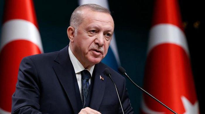امریکی صدر نے اسرائیل کی حمایت کرکے اپنے ہاتھ خون آلود کرلیے، ترک صدر