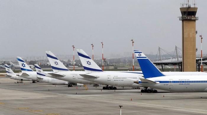 اسرائیل کا جنگی جنون، تل ابیب ائیرپورٹ سنسان، ایک دن میں 89 پروازیں منسوخ