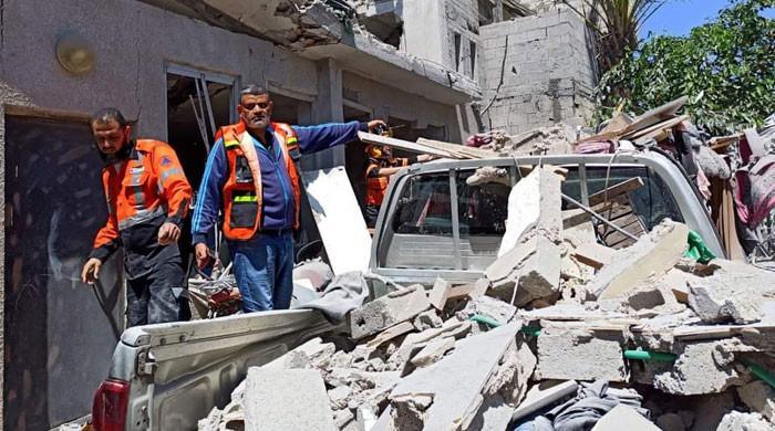 غزہ پر اسرائیل کے وحشیانہ حملے نہ تھمے، گزشتہ رات بھی بمباری کی گئی