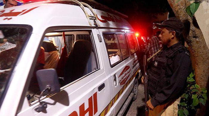 کراچی میں پولیس کا خوف شہری کی جان لے گیا