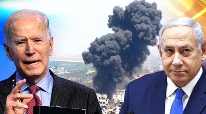 امریکی صدر اسرائیلی وزیراعظم سے جنگ بندی کا مطالبہ نہ کرسکے