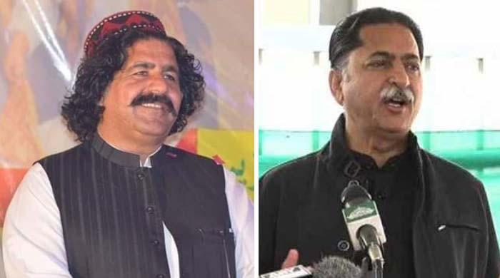 جاوید لطیف اور علی وزیر