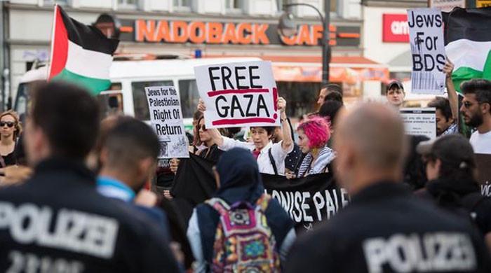 غیر مسلموں کی ریلیاں۔ نئی فلسطینی قیادت