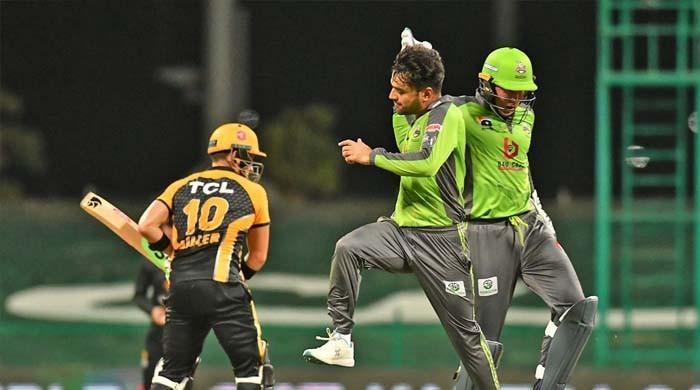 لاہور قلندرز نے پشاور زلمی کو 10 رنز سے ہرا دیا