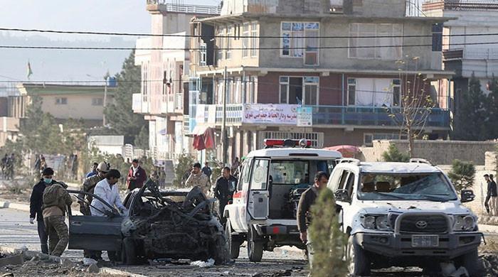 افغان دارالحکومت کابل میں دو دھماکے، 7 افراد ہلاک