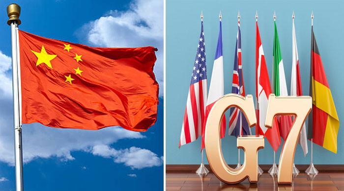 چین کا جی 7 ممالک کو کرارا جواب