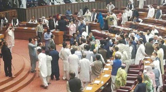 اب پارلیمنٹ عزت داروں کے لئے نہیں