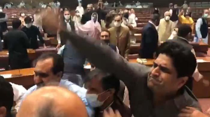 7 ارکان اسمبلی کے پارلیمنٹ کی حدود میں داخلے پر عائد پابندی ختم